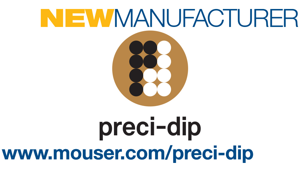 Mouser and PRECI-DIP sign global distribution agreement